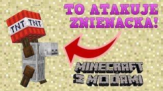 Minecraft z modami #136 - TO ATAKUJE Z NIENACKA! - TNT Yeeter mod
