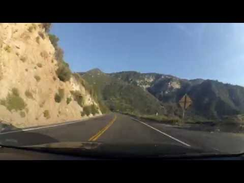 Drive through Angeles National Forest
