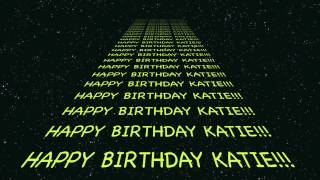 Captain Zoom - Happy Birthday KATIE