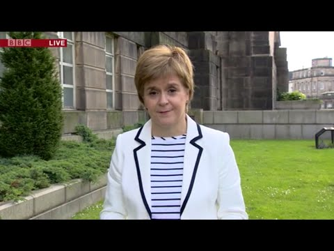 CRUNCH: Nicola Sturgeon manages to turn the softest of interviews into a car crash.