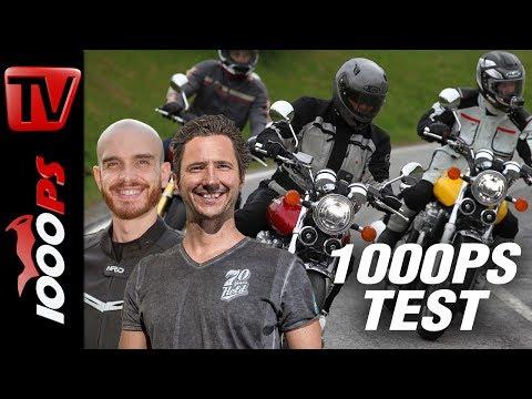 1000PS Test - Honda CB1100 EX und CB1100 RS 2017 im Test - Genuss im Spessart.