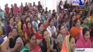 Geetaben Khuman(GujjuCooking.com) At Navsari Jain Vangi Margdarshan