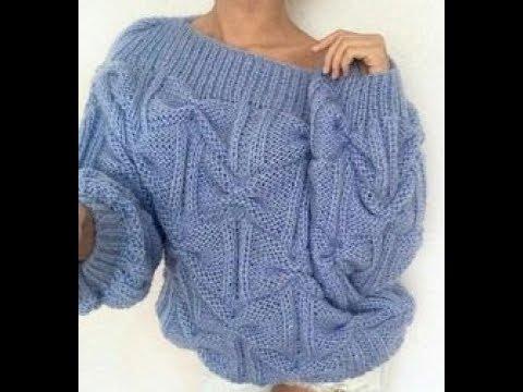 Узоры для Вязания Свитера Спицами - 2019 / Patterns For Knitting A Knit Sweater