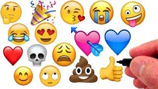 Artist Draws Emojis!