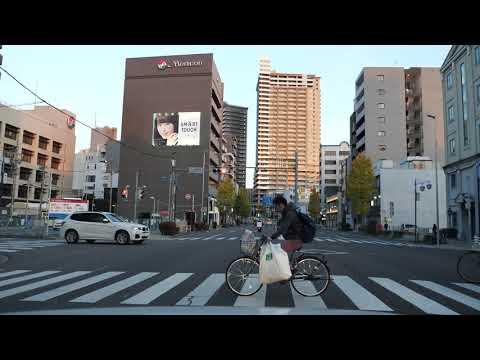 Nagoya City drive 名古屋市 広小路通 2018