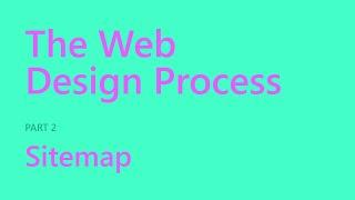 Sitemap | The Web Design Process