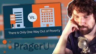 "Destiny reacts to ""There Is Only One Way Out of Poverty"" by PragerU"