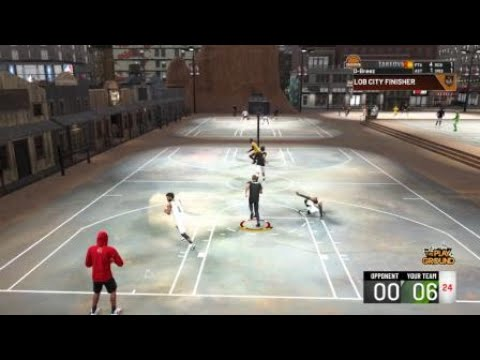 NBA 2K20 Ridiculous 360 Alley-Oop Posterizer Dunk In Dodgeball Rodeo Park