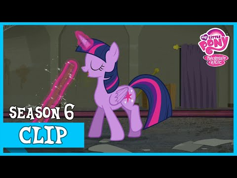 "MLP: FiM – Twilight Sparkle: Sweep, Sweep, Sweep, Sweep ""The Saddle Row Review"" [HD]"