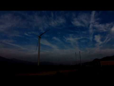 Time-lapse: Wind Turbines | Arrowhead Mountain Spring Water