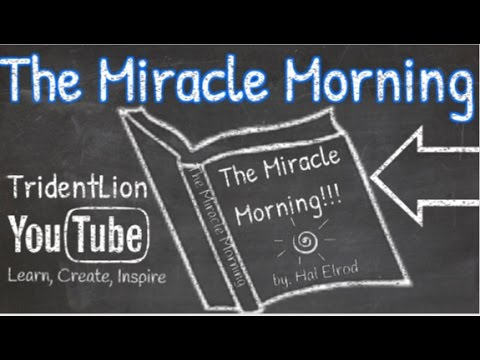the miracle morning by hal elrod animation book summary. Black Bedroom Furniture Sets. Home Design Ideas