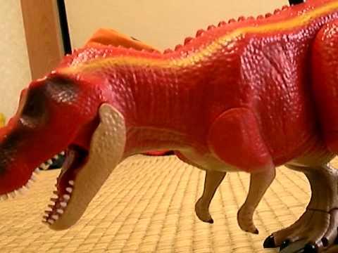 ティラノサウルとおもちゃで遊んでしまいました Youtube