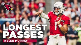 Kyler Murray's Longest Passes from 2019 | Arizona Cardinals Highlights