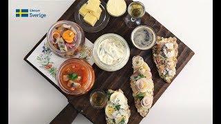 Шведская кухня: Праздничная закуска S.O.S: сельдь, сыр и снапс // ru.sweden.se