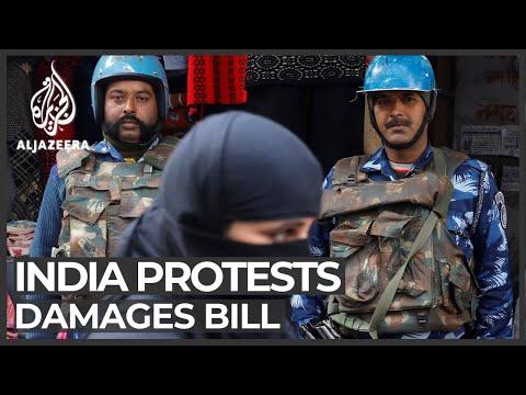India demands damages for Uttar Pradesh citizenship protests
