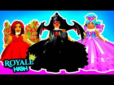 THE DARK FAIRY TRAPPED US!! | Roblox Royale High School | Royal High School | Roblox Roleplay