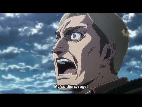 Erwin's Last War Scream | Attack On Titan Season 3 Part 2 | Eng Sub
