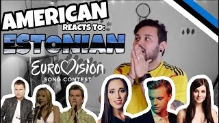 American REACTS: Estonian Eurovision