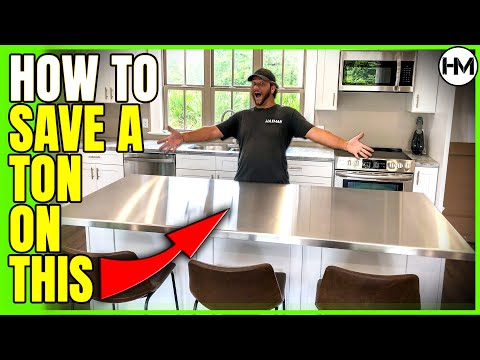 EXPENSIVE Kitchen Countertop for CHEAP!