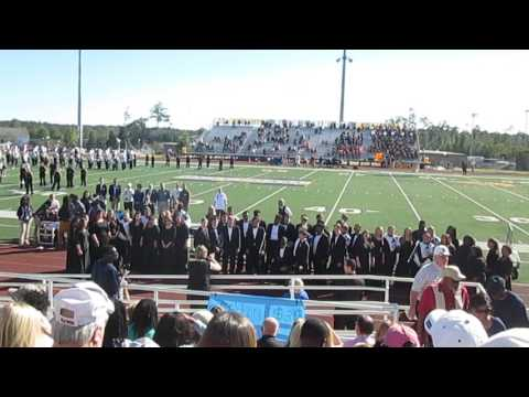 """Alma Mater"" Mississippi Gulf Coast Community College Homecoming Music at Perkinston 2016-10-16"