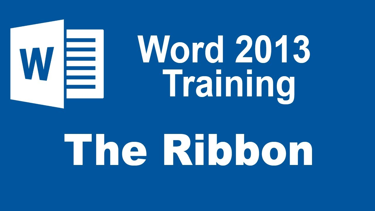 word 2013 training certificate