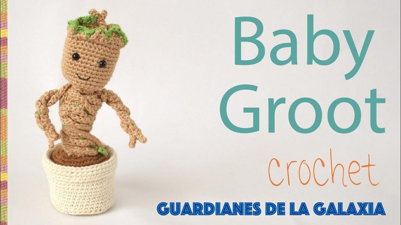CROCHET PATTERN - AMIGURUMI BABY GROOT FAN ART | 720x1280