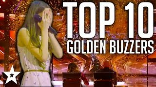 all 5 golden buzzer