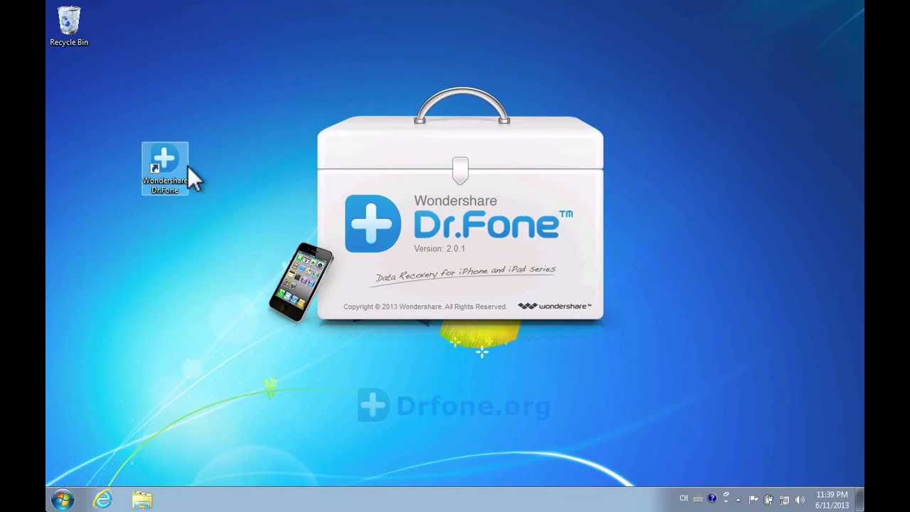 Wondershare Dr.Fone (iPhone 5) iPhone Recovery: How to Recover iPhone ...