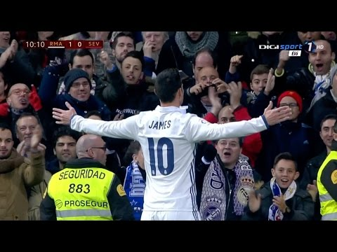 James Rodriguez vs Sevilla Home HD (5/01/2017) by JamesR10™
