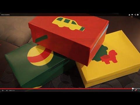 Как организовать пространство в детской. Коробки для игрушек своими руками