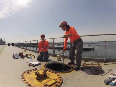 Ballast Water Sampling Time Lapse