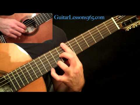 Romance - Acoustic Fingerstyle Guitar Lesson Pt. 2 - Romanza