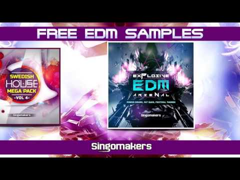 Free EDM Samples / Loops / Oneshots / FX / by Singomakers