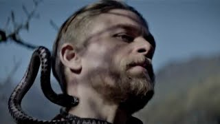 King Arthur training with snake / legend of sword