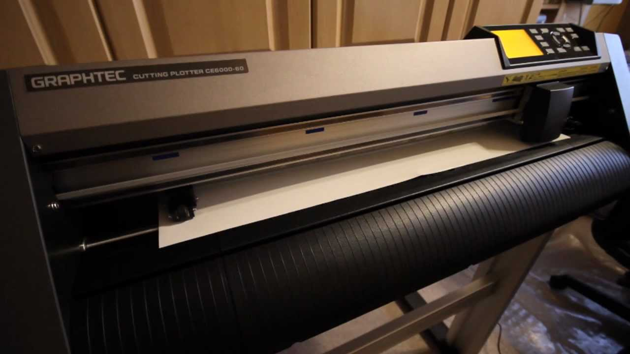 Graphtec Ce6000 60 Vinyl Cutter Plotter Cutter Motions