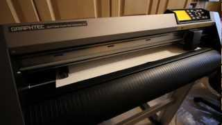 Graphtec CE6000-60 Vinyl Cutter/Plotter - Cutter motions, noises and LCD display