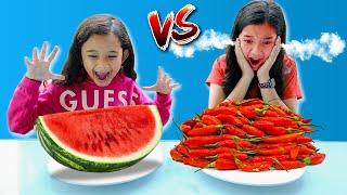 Healthy FOOD Vs Spicy FOOD **Challenge Paling GOKIL***