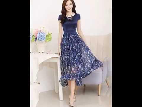 d82ebf06a Moda faldas y vestidos hermosos♥ - YouTube