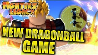 NEW INTERESTING DRAGONBALL COMMUNITY GAME!! FINALLY!   Fighterz Legacy   Roblox