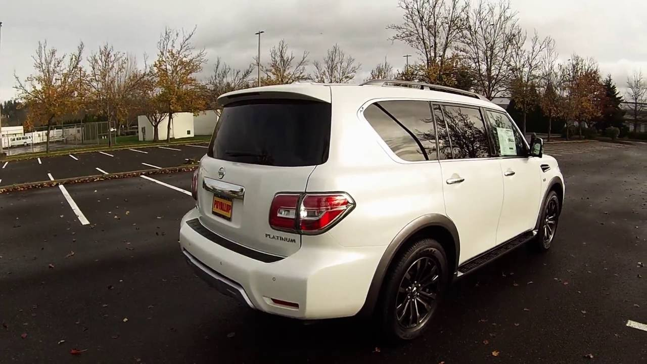 2017 nissan armada platinum 4x4 review and test drive