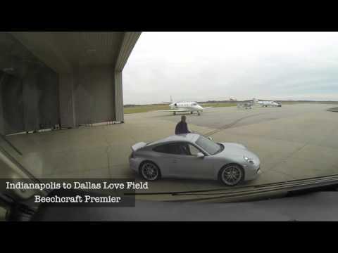 Beechcraft Premier flight-Indy to Dallas