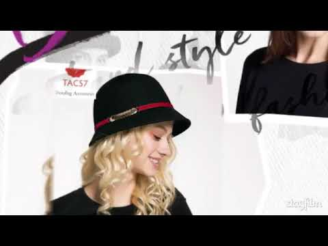 TACS7 Trending Accessories- Latest Ladies Hats Collection - YouTube cba9a3e66fc