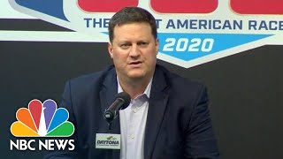 'Our Thoughts Are With Ryan': NASCAR Executive Speaks Out On Newman's Daytona Crash | NBC News