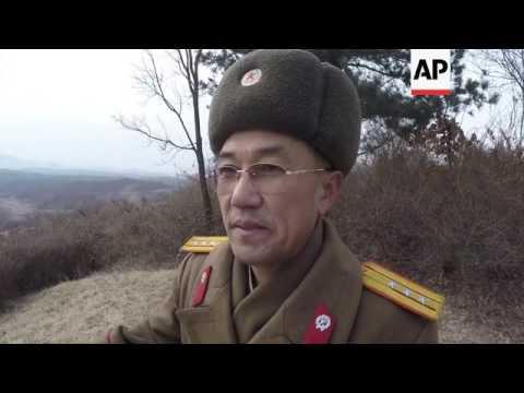 South Korean loudspeaker campaign across DMZ