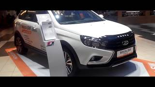 Лада Веста СВ Кросс (2017). краткий видео обзор. Lada Vesta SW Cross (2017). short video review.