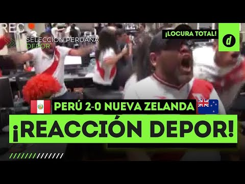 La REACCIÓN del Diario Depor en el PERÚ 2-0 Nueva Zelanda