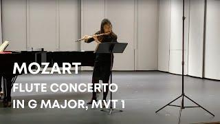 Mozart Flute Concerto in G Major mvt I (Exposition) | Jennifer Jo