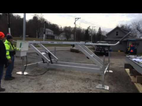 Sunstream SL8012FR Sunlift boat lift - assembled and in ...