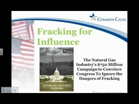 Deep Drilling, Deep Pockets - Fracking Webinar