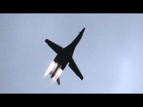 B-1B Lancer departing
